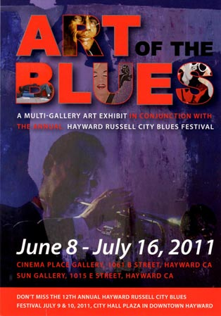 Juried Art Gallery Exhibit: Art Of The Blues