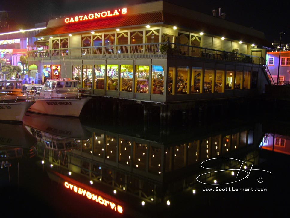 Landmark restaurant Castagnola's in San Francisco's Fisherman's Wharf